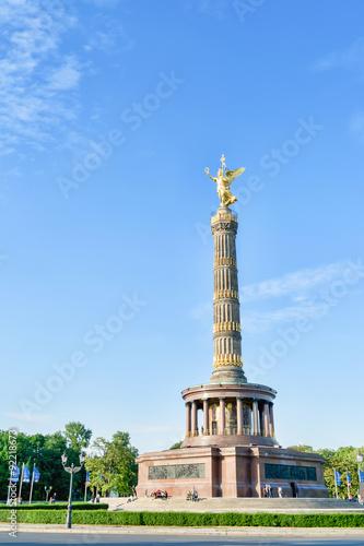 Victory Column in Berlin Poster