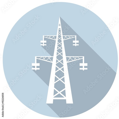 Valokuva  Power transmission tower