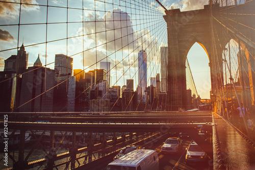 Photo  New York,Brooklyn Bridge