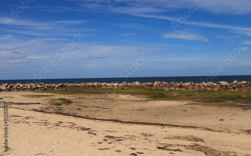 Photo  Corporation Beach in Dennis, Massachusetts on Cape Cod in the summer