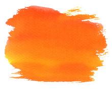 Abstract Orange Spot