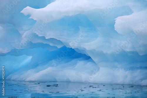 Foto auf Acrylglas Bestsellers Iceberg background