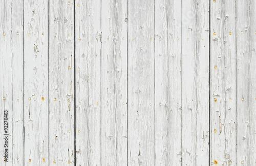 Fotografie, Obraz  Holz Bretter Shabby Weiss Hintergrund Textur