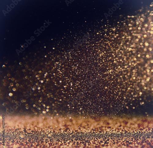 Photo  glitter vintage lights background