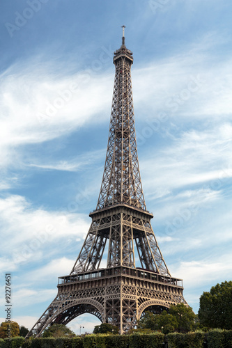 Foto op Canvas Londen Eiffel Tower - The most famous symbol of Paris