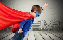Kid Superhero Travel.