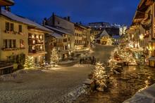 Gruyere Village, Switzerland