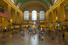 Interior Of Grand Central Station In New York City, USA