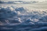 Piękne tło błękitnego nieba - 92314272