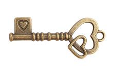 Key With Heart Shape