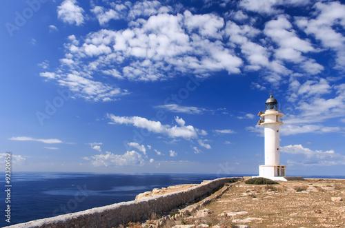 Foto op Aluminium Vuurtoren formentera lighthouse