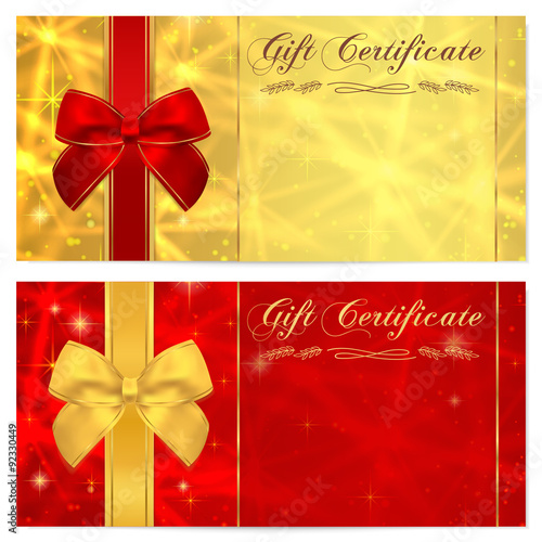 money gift certificate template