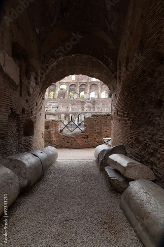 Roma - interno del Colosseo Canvas-taulu