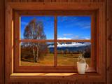 Autumn landscape - 92349680