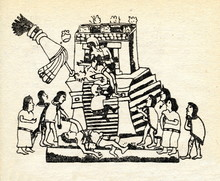 Aztec Ritual Human Sacrifice In The Codex Magliabechiano