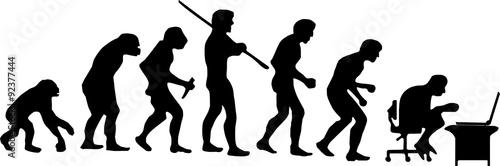 Fotografia, Obraz  Humans - evolution