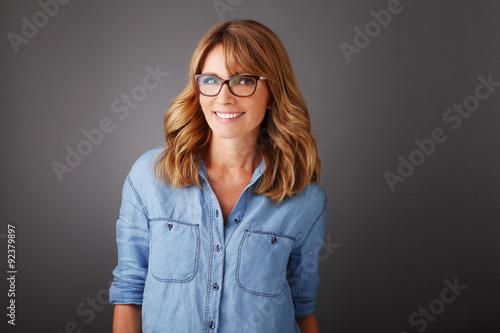 Fotografia  Smiling businesswoman