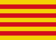 Catalonia Flag Vector