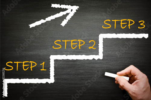 Fotografía  Step 1 step 2