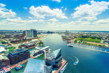 Inner Harbor Of Baltimore, Mar...