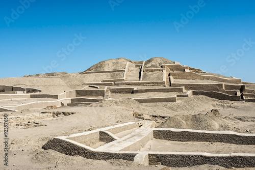 Cahuachi pyramids Wallpaper Mural
