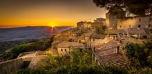 Volterra Sunset