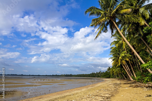 Foto op Canvas Tropical strand Wnung Tug bay