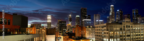 Photo  Historic Core and Financial District of Downtown Los Angeles
