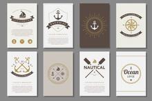 Set Of  Nautical Brochures In ...