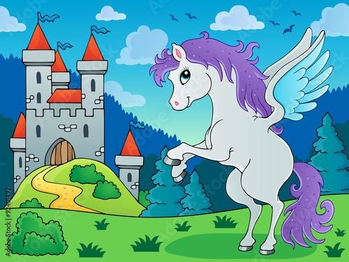 Poster Pony Fairy tale pegasus theme image 3