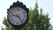 Small Town Street Clock
