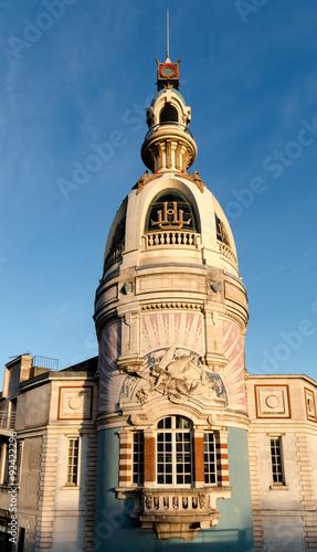Tour LU - Nantes Fototapete