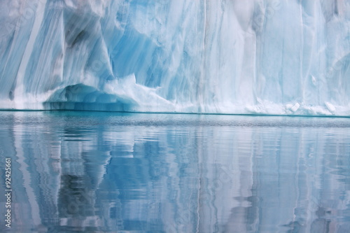 Photo Stands Pole Iceberg background