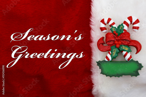 Fotografie, Obraz  Season's Greetings