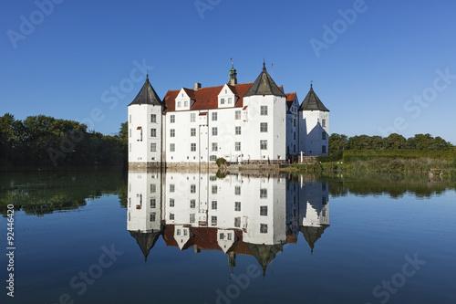 Montage in der Fensternische Schloss Glücksburg Castle