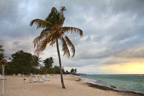 Montage in der Fensternische Karibik Cuba - Guardalavaca beach
