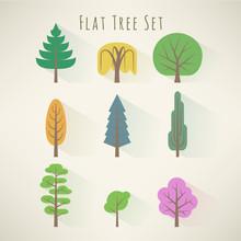 Flat Tree Set