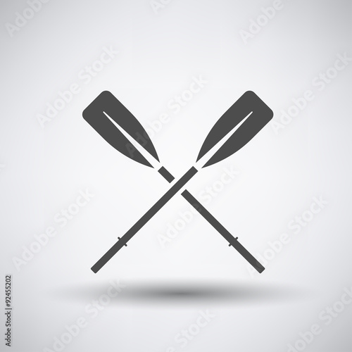 Photo Oars Icon