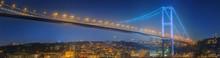 View Of Bosphorus Bridge At Ni...