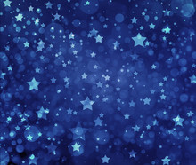 Stars On Blue Background. Navy...