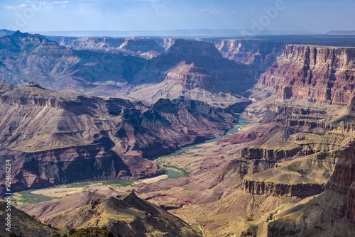 Poster de jardin Vache Grand Canyon in spectacular afternoon light