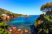 Esterel Rocks Beach Coast And ...