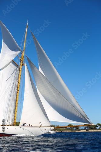 Spoed Foto op Canvas Zeilen voiliers
