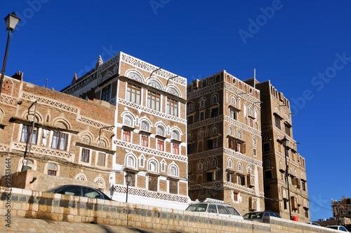 Papiers peints Les vieux bâtiments abandonnés Sanaa, Yemen