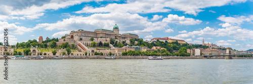 Montage in der Fensternische Budapest Budapest city skyline panorama - Budapest - Hungary