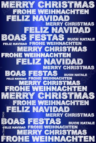 Frohe Weihnachten In Verschiedenen Sprachen.Frohe Weihnachten In Verschiedenen Sprachen Buy This Stock Vector
