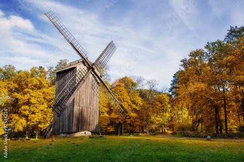 Tuinposter Molens Windmill