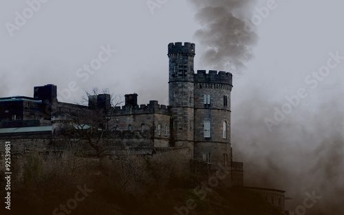 Cadres-photo bureau Chateau Old castle in Edinburgh