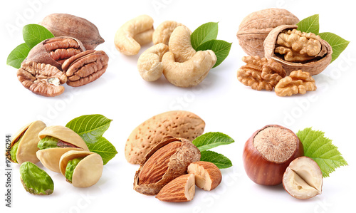 mata magnetyczna Nuts collage