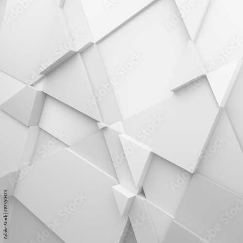 Geometric color abstract polygons